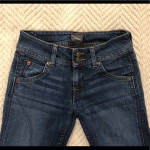 Hudson dark wash bootcut jeans